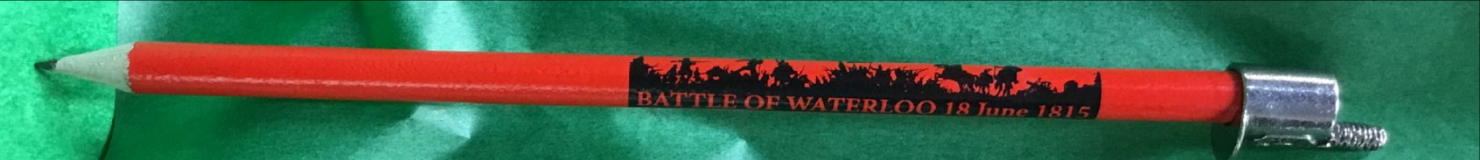Battle of Waterloo Hat Pencil